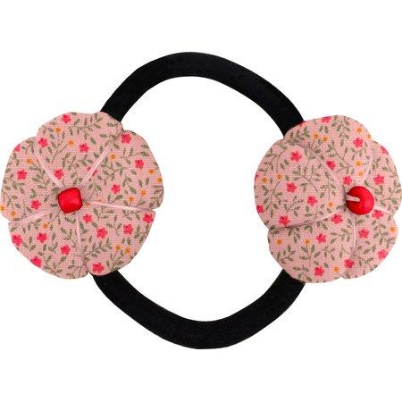 Elastique fleur du japon mini fleur rose