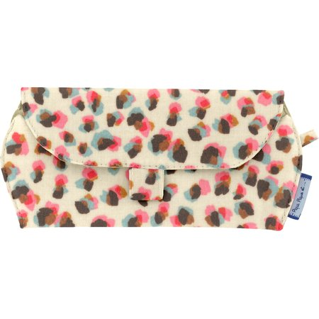 Glasses case confetti aqua
