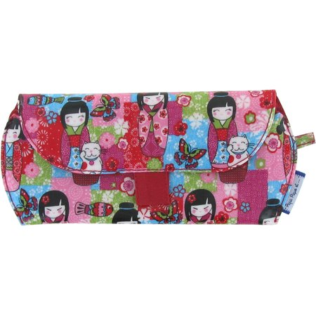 Glasses case kokeshis
