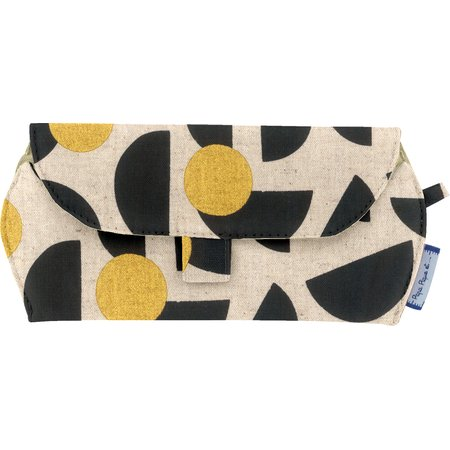Glasses case golden moon