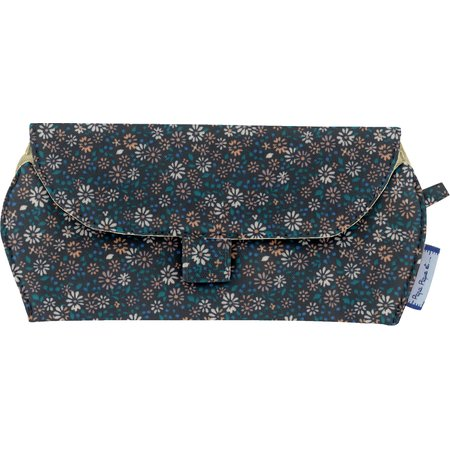 Glasses case paquerette marine