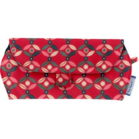 Glasses case paprika petal