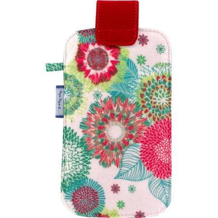 Phone case powdered  dahlia