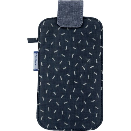 Phone case silver straw jeans