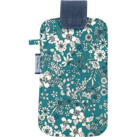 Phone case celadon violette