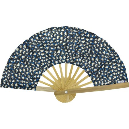 Hand-held fan parts blue night