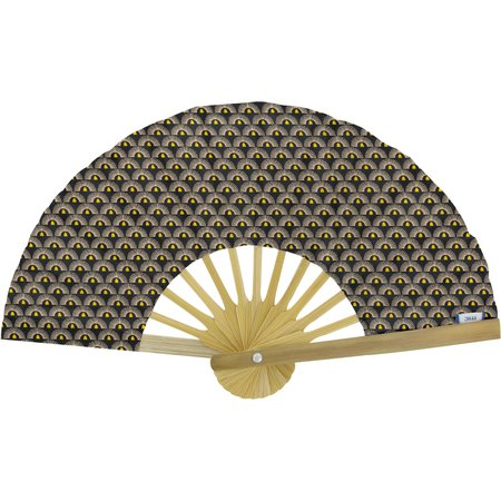 Hand-held fan inca sun