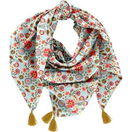Pom pom scarf  corolla
