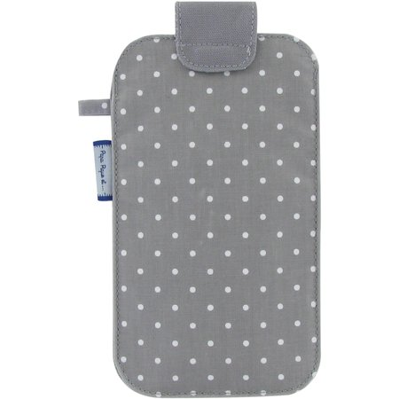 Big phone case light grey spots