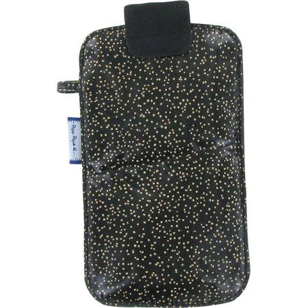 Etui téléphone portable noir pailleté