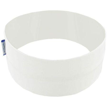 Turbantes elasticos blanco a2