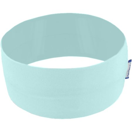 Stretch jersey headband  sky blue a4