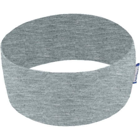 Stretch jersey headband  gris chiné a8