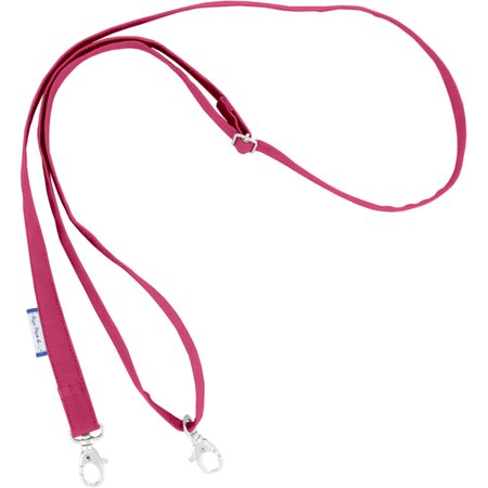 Length removable strip  fuschia