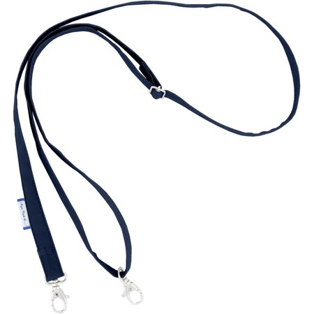 Length removable strip  navy blue