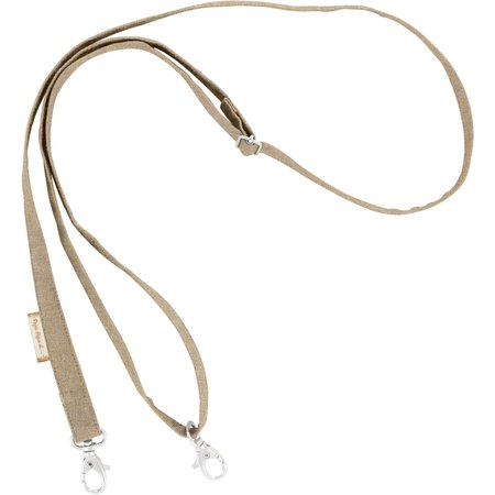 Length removable strip  golden linen