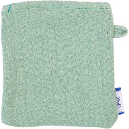 Mini-Gant Démaquillant gaze vert sauge
