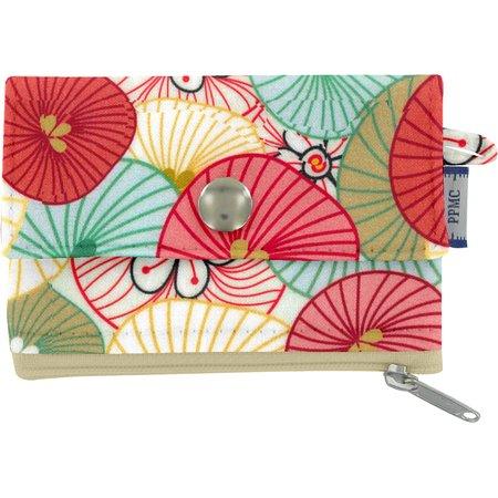 Mini pochette porte-monnaie ombrelles