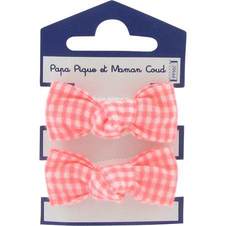 Small elastic bows vichy peps