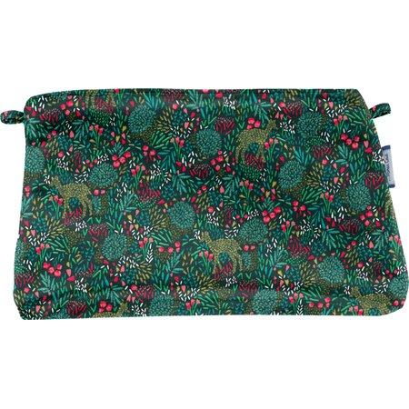 Coton clutch bag deer
