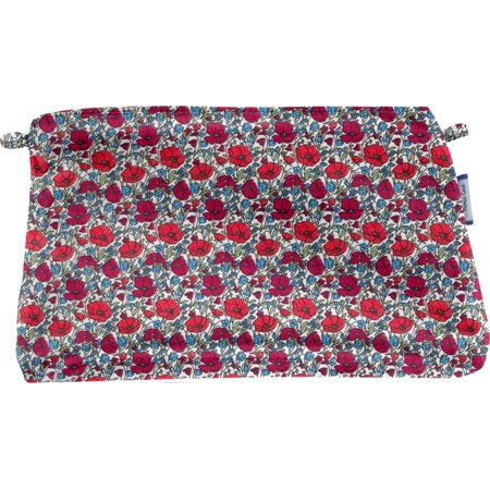 Coton clutch bag poppy