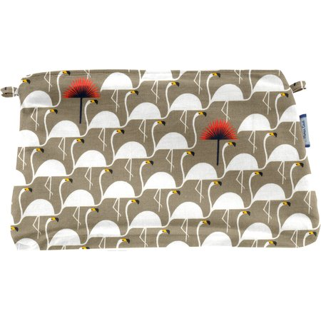 Coton clutch bag flamingo