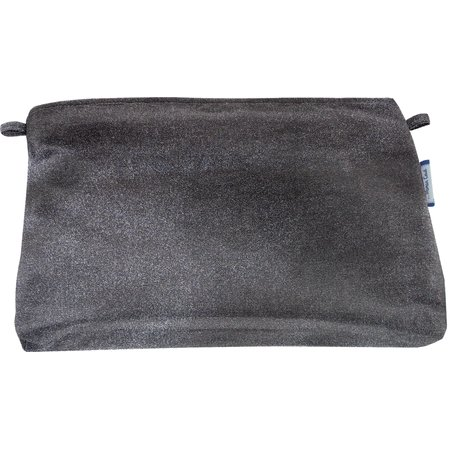 Coton clutch bag suédine noire