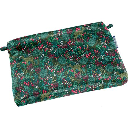 Tiny coton clutch bag deer