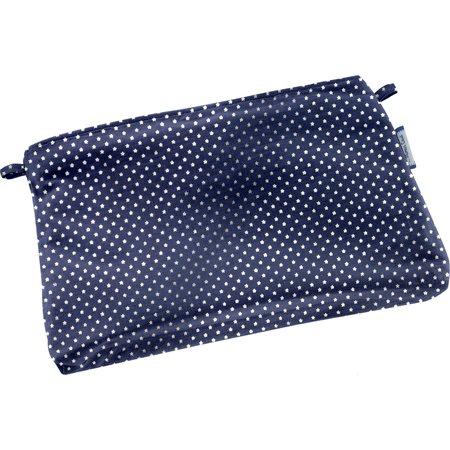 Mini pochette coton etoile marine or