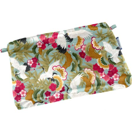 Tiny coton clutch bag ibis