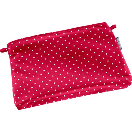 Tiny coton clutch bag red spots