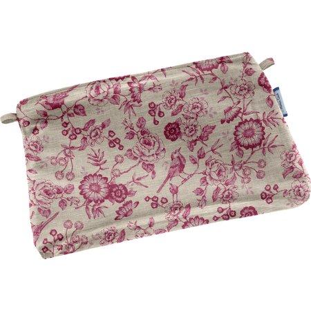 Tiny coton clutch bag nightingale