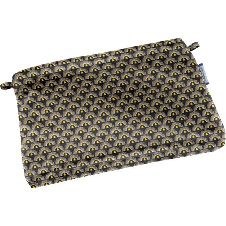 Mini estuche de tela  sol de los incas