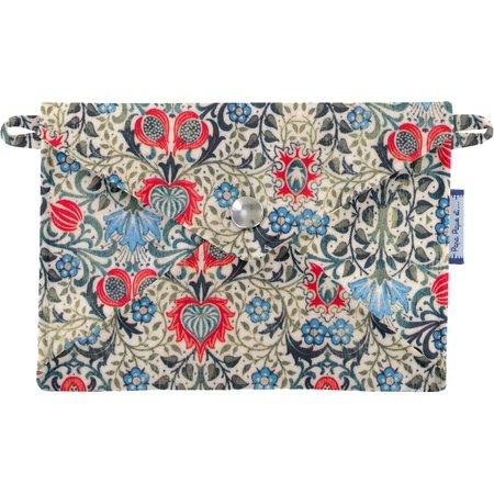 Pequeña bolsa carterilla  azulejos