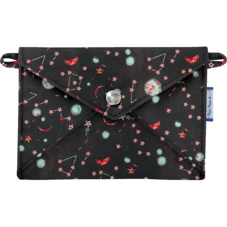 Pequeña bolsa carterilla  constelaciones