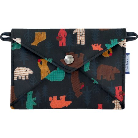 Little envelope clutch grizzly