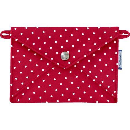 Little envelope clutch red spots