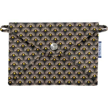 Little envelope clutch inca sun