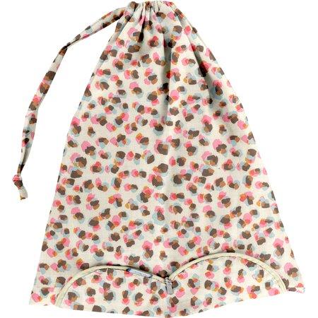 Lingerie bag confetti aqua