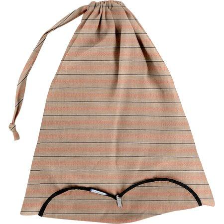 Sac lingerie rayure bronze cuivrée