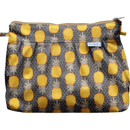Pochette plissée ananas