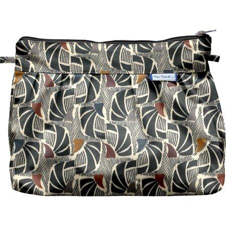 Pleated clutch bag mosaïka