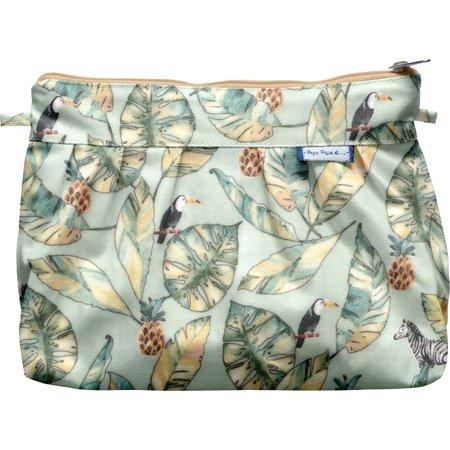 Pleated clutch bag paradizoo mint