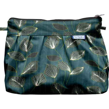 Pleated clutch bag   vegetalis