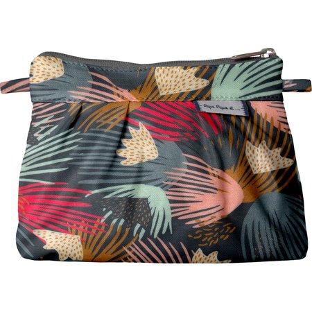 Mini Pleated clutch bag fireworks