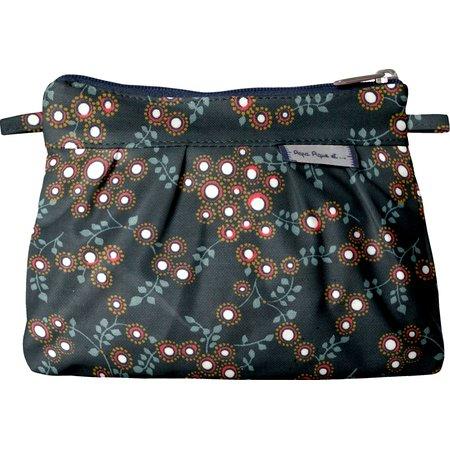 Mini Pleated clutch bag fireflies