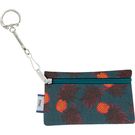 Keyring  wallet pineapple party