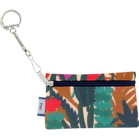 Pochette porte-clés canopée