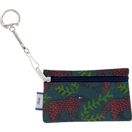Keyring  wallet wolf of the woods