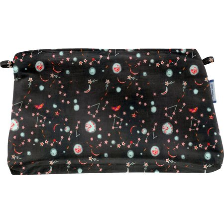 Coton clutch bag constellations